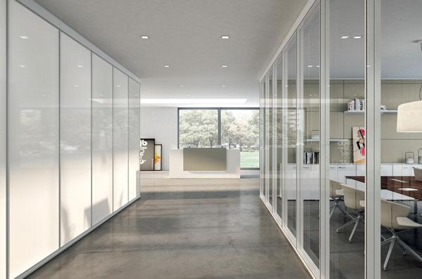 Dividir espais dins l'oficina